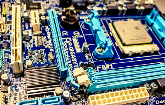 graphic designing work motherboard
